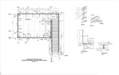 Browse through steel detailing drawings, framing plans, and reports for previous projects. Shop drawings can be customized to meet the needs of the steel fabricator. Steel Drawing, Steel Detail, Detailed Drawings, Floor Plans, Sheet Metal, How To Plan, Shopping, Interior, Indoor
