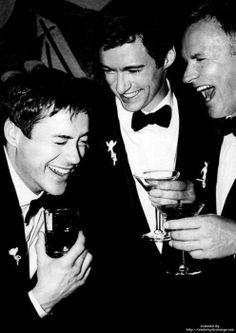 Robert Downey Jr., Hugh Jackman, Sting.