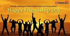 Celebrate this life long Harmony of Friendship Tirunelveli Today wishes A very Happy Friendship's Day #tirunelvelitoday #friendshipsday