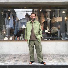 いいね!661件、コメント3件 ― Nigel Caboun Japanさん(@nigelcabournjapan)のInstagramアカウント: 「【Men's styling】 _Mountain Division Big Shirt _Army Cargo Pant _Cycling Sox #nigelcabourn…」