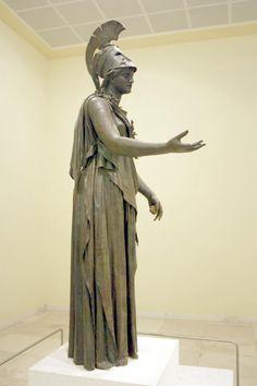 Bronze Statue of Athena 4th BC