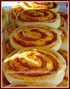 In cucina senza glutine ricette e cucina per celiaci: girandole di mozzarella senza glutine