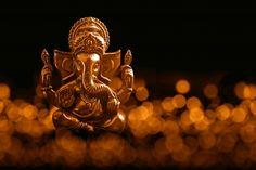 Hindu god ganesha. ganesha idol. a colorful statue of ganesha idol. space for text or headline.   Premium Photo Ganesh Ji Images, Hanuman Images, Ganesha Pictures, Sai Baba Hd Wallpaper, Ganesh Wallpaper, Rakhi Images, Lord Ganesha Paintings, Ganesh Statue, Baba Image