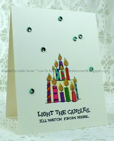 Love To Scrap!: Light the Candles