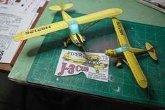 Big brother J-3 Cub build!
