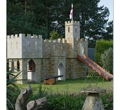 The Castle Fortress Playset | Marquette Turner Luxury Homes