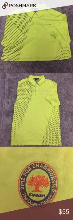 Tiger Woods Collection PGA Golf Shirt Dry-fit PGA championship golf shirt. NWOT. Nike Shirts