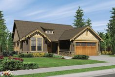 House Plan 48-404, 1850 sf., 3 bedrooms, 2 baths.
