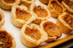 Whether you like nuts or raisins or thin or thick crust in butter tarts, you're bound to find a version in this selection of recipes to try making at home.