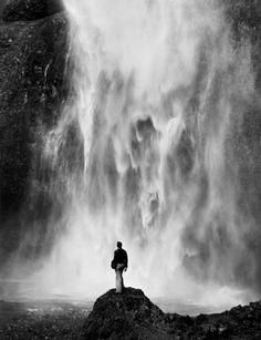 Alfred Eisenstaedt - Multnomah Falls, Oregon, 1938.
