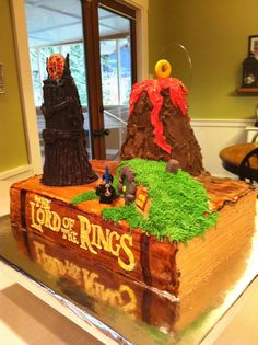 Caleb's 9th birthday - Lord of the Rings