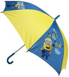 "Minions - Paraguas ""1 in a Minion"" de 48 cm, color azul y amarillo (United Labels 811792) - http://comprarparaguas.com/baratos/de-colores/amarillo/minions-paraguas-1-in-a-minion-de-48-cm-color-azul-y-amarillo-united-labels-811792/"