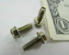 Details About 100 Hex Washer Head Thread Forming Machine Screws 8 32 X 1 2 Zinc Chromate Machine Screws Zinc Screws