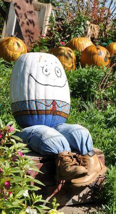 humpty dumpty pumpkin- so clever.