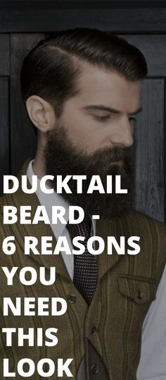 6 Reasons Why you Should Opt for Ducktail Beard Look - - Growing a Ducktail beard is not easy for all, but simple for few. Here are 6 Reasons Why you Should Opt for Ducktail Beard Look. Popular Beard Styles, Beard Styles For Men, Hair Trends 2015, Mens Hair Trends, Beard Growth, Beard Care, Growing A Full Beard, Patchy Beard, Peter Beard