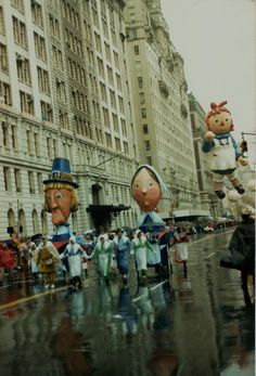 Vintage Macy's Thanksgiving Day Parade 1985