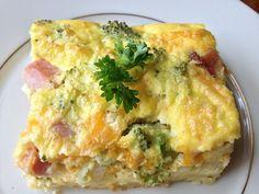 Egg casserole from my friend Martha and the Snowbird Inn.