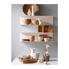 BOTKYRKA Wall shelf, white white 31 1/2x7 7/8