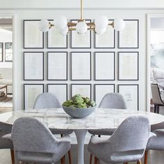 This could be a cool way to do a paneling affect in the living room without building it in. I hope you can connect the dots with this image. Just buy picture frames and mount them to the wall