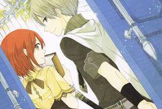 Shirayuki & Zen | Akagami no Shirayuki-hime #manga