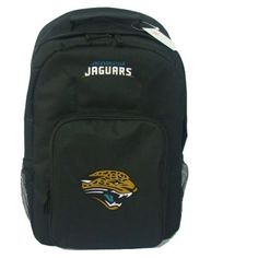 NFL Jacksonville Jaguars Southpaw Backpack, Black, Medium by Concept 1. Save 21 Off!. $18.27. The SouthPaw is a great backpack to show off your favorite team, allowing you to carry all your necessary gear to different places like school, the office, the gym, etc.