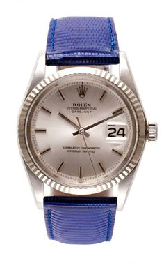 Rolex Stainless Steel And 18K White Gold Datejust by CMT Fine Watch and Jewelry Advisors for Preorder on Moda Operandi