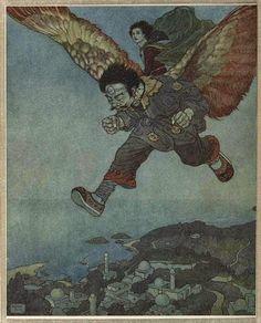 Illustration s'il vous plaît: Edmond Dulac