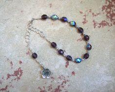 Hypnos Prayer Bead Bracelet: Greek God of by HearthfireHandworks