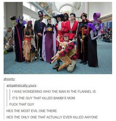 When they realised how terrifying this cosplay actually was. | 31 Times Tumblr Had Serious Questions About Disney