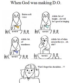 When god made D.O (EXO)