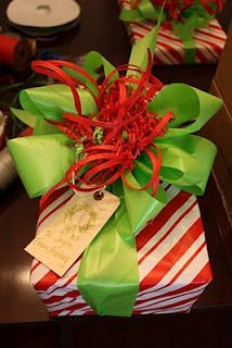 Christmas Gift Wrapping Party - I LOVE this idea!