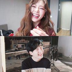 BTS/Dreamcatcher — characters yoongi & akko [ jiu ] : laughing  Harry Potter [ AU ]