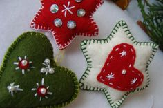 Felt Xmas decoration