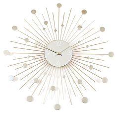 Starburst Retro Wall Clock, Silver Ashton http://smile.amazon.com/dp/B001P72C9O/ref=cm_sw_r_pi_dp_.mRpwb0VJR5XA