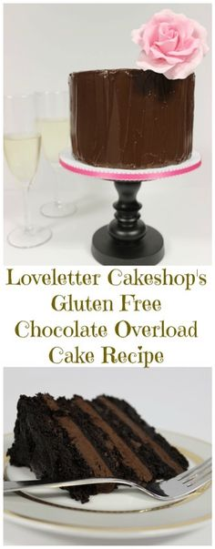 Gluten Free Chocolate Overload Cake  http://www.fearlessdining.com