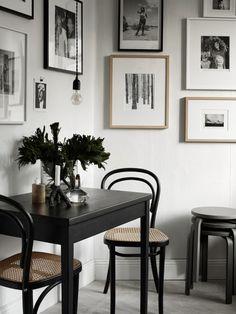 Salle à manger black & white