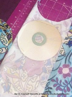 Tutorial: How to sew your own reusable nursing pads without serging. I often upcycle old teeshirts for the inner fabric of these which works great.