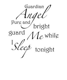 """Angel Quote Wall Decal Must See        What best way to make a room light up with a beautiful saying on the wall.      This Beautiful saying will enchant any room of the house and gives that warm feelings..    Any other question let me know....  Font can be made bigger or smaller (note that font that are made bigger may have an extra charge for them example below)Medium-18"""" w x 24.25"""" h $21.95  Large-22"""" w x 30"""" h $25.95  Small-16.5"""" w x 22"""" h $14.00"""