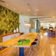 Kolorowe wnętrza w nowoczesnym domu