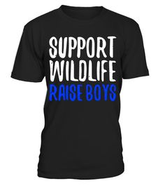 """# Support Wildlife Raise Boys T-Shirt Funny Parents Gift Shirt . Special Offer, not available in shops Comes in a variety of styles and colours Buy yours now before it is too late! Secured payment via Visa / Mastercard / Amex / PayPal How to place an order Choose the model from the drop-down menu Click on """"Buy it now"""" Choose the size and the quantity Add your delivery address and bank details And that's it! Tags: Perfect Gift Idea for FATH"""