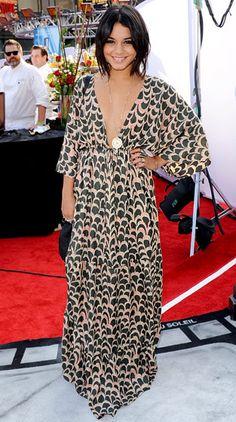 Vanessa Hudgens in T Bags dress at Iris premiere