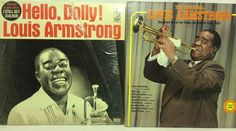 Louis Armstrong Lot of 2 Vinyl Record Albums - Hello Dolly & The Essential