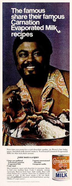 Rosey Grier for Carnation, 1974