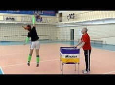 AVCA Video Tip of the Week: Blocking Warm up without Ball - YouTube