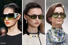 The spring/ summer 2020 sunglasses trends did feature some holdovers from previous seasons, not to mention the various timeless and vintage options. Yellow Lens Sunglasses, Summer Sunglasses, Tortoise Shell Sunglasses, Oval Sunglasses, Eyewear Trends, Trending Sunglasses, Fashion Colours, Cool Eyes, Spring Summer