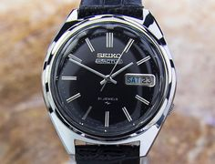Vintage Rare SEIKO ACTUS 5 Stainless Steel Automatic by SKUJewelry