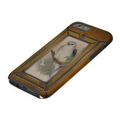 Retro Birds. Tough iPhone 6 Case★ #Steampunk #Samsung #iphone #Cases #S6 #S7 #ipad #samsunggalaxys #victorian #phonecases #accessories #gosstudio