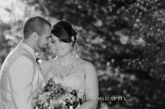 candid, intimate love moment! posing plus sized Bride with Groom at Hoopes Park by McKay's Photography. Top Rustic Finger Lakes Wedding photos.