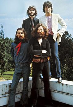 The Beatles - Image is taken at Tittenhurst Park, 1969. Afterwards this turned out to be the last day they where together as a group.