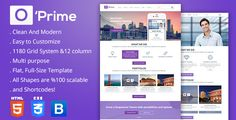O'prime Multi Purpose Responsive HTML Template . O'prime Multi Purpose Responsive HTML Template